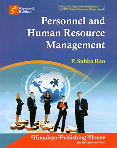Personnel and Human Resource Management: Subba Rao, P.