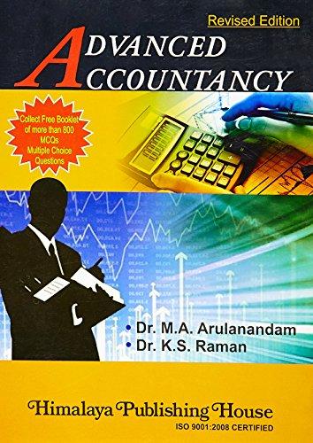 Advanced Accountancy: Arulanandam & Raman