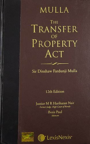9789351433460: Transfer of Property Act
