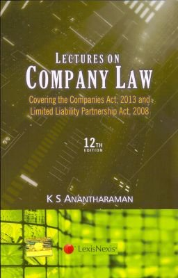 Lectures on Company Law: Covering Companies Act,: K S Anantharaman
