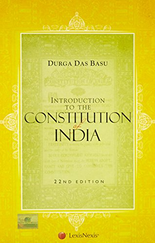 9789351434467: Introduction To The Constitution Of India