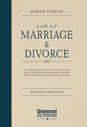 Law of Marriage and Divorce : A: Paras Diwan