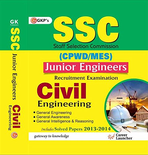 9789351444879: Ssc Cpwd - Mes 2015 Civil Engineering (Junior Engineering Recruitment Exam) Includes Solved Paper 2013 - 2014: Civil Engineering - Junior Engineer Recruitment Exam (Old Edition)