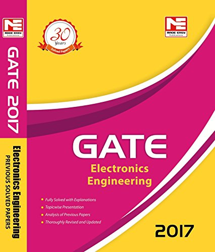 9789351471943: GATE-2017 : Electronics Engineering Solved Papers