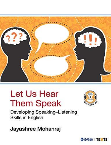 Let Us Hear Them Speak : Developing: Jayashree Mohanraj