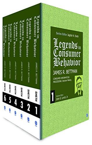 Legends in Consumer Behavior: James R. Bettman (Hardback)