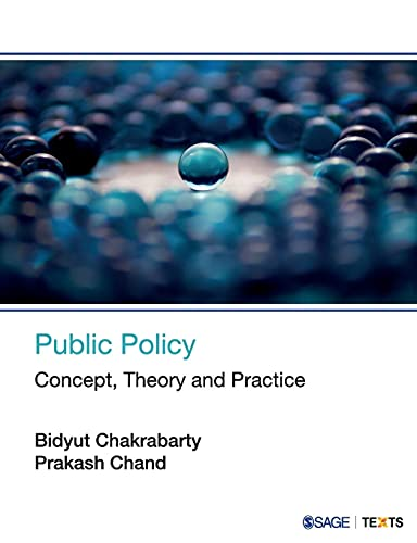 9789351509257: Public Policy: Concept, Theory and Practice