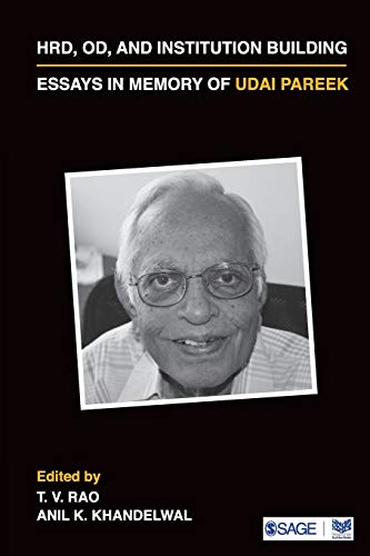 Hrd, Od, And Institution Building, Essays In: T V Rao
