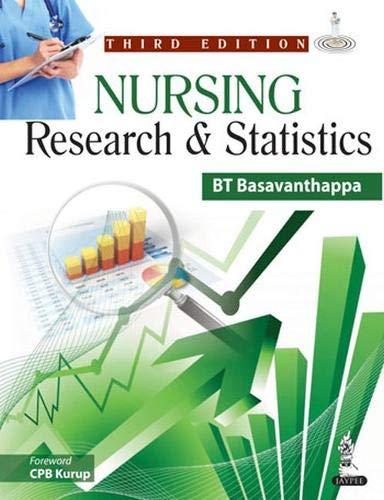 Nursing Research and Statistics: BT Basavanthappa