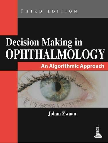 9789351520917: Decision Making in Ophthalmology: An Algorithmic Approach