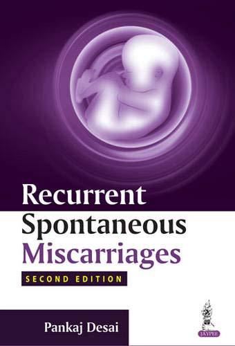 Recurrent Spontaneous Miscarriages: Pankaj, M.D. Desai