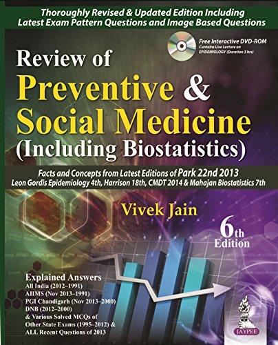 9789351522331: Review of Preventive and Social Medicine (Including Biostatistics)