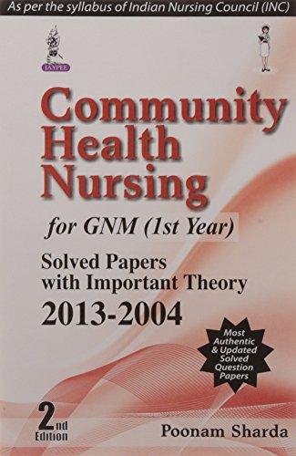 Community Health Nursing for GNM (1st Year):