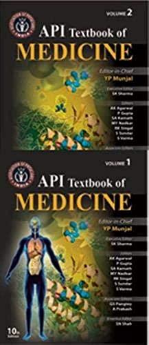 9789351524151: API Textbook of Medicine