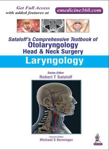 9789351524571: Sataloff's Comprehensive Textbook of Otolaryngology: Head & Neck Surgery