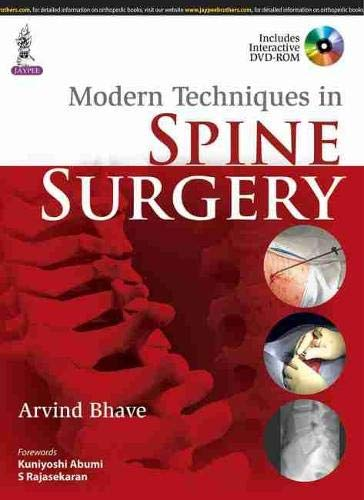 Modern Techniques in Spine Surgery with DVD-ROM: Bhave
