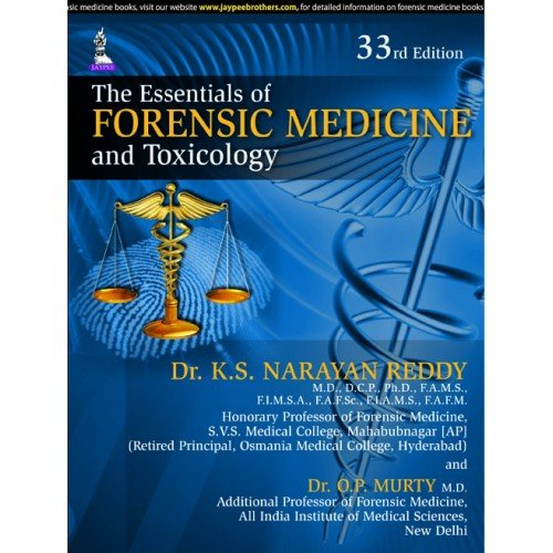 9789351525578 The Essentials Of Forensic Medicine And Toxicology Abebooks Reddy Narayan 9351525570