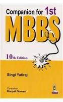 9789351525677: Companion For 1St Mbbs