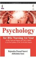 Psychology for BSc Nursing 1st Year (Fully: Rajendra Prasad Seervi,Abhishek