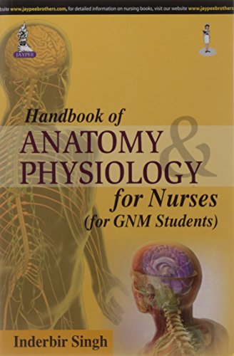 Handbook of Anatomy and Physiology for Nurses (for GNM Students): Inderbir Singh