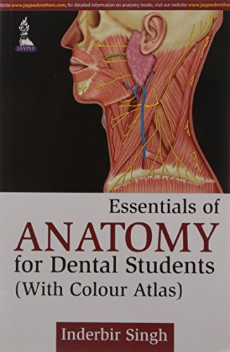 Essentials of Anatomy for Dental Students (With Colour Atlas): Inderbir Singh