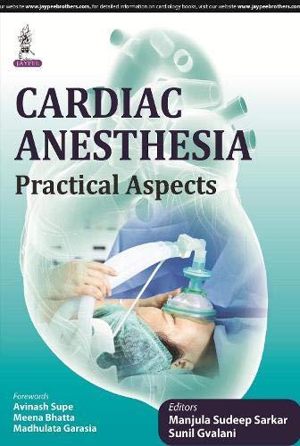9789351528227: Cardiac Anesthesia: Practical Aspects