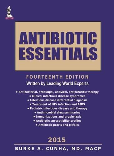 9789351528500: Antibiotic Essentials 2015