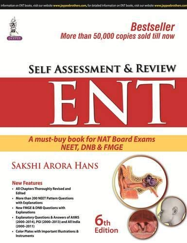 Self Assessment And Review Ent Sixth Edition By Sakshi Arora