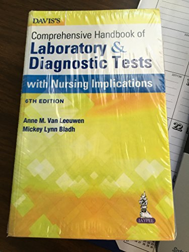 9789351528715: Davis's Comprehensive Handbook of Laboratory and Diagnostic Tests With Nursing Implications (6th Edition)