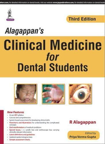 Alagappan?s Clinical Medicine for Dental Students (Third: R. Alagappan (Author)