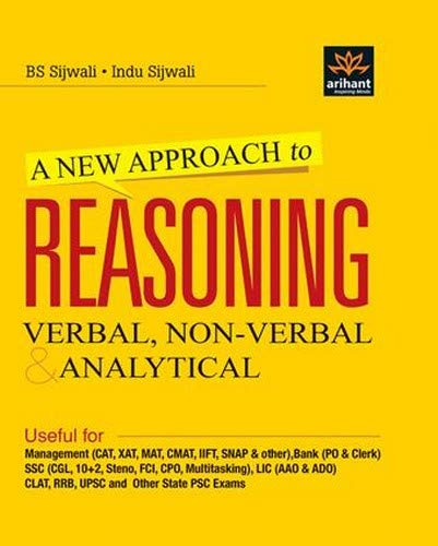 9789351765103: A New Approach to REASONING Verbal & Non-Verbal