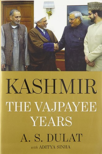9789351770664: Kashmir: The Vajpayee Years