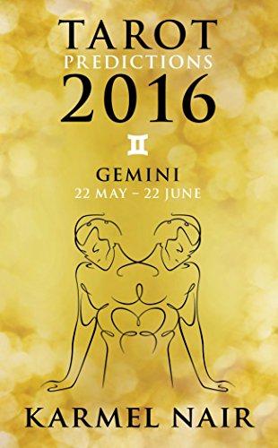 9789351776567: Tarot Predictions 2016: Gemini