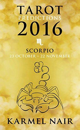 9789351776666: Tarot Predictions 2016: Scorpio