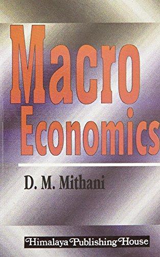 Macro Economics: Mithani, D.M.