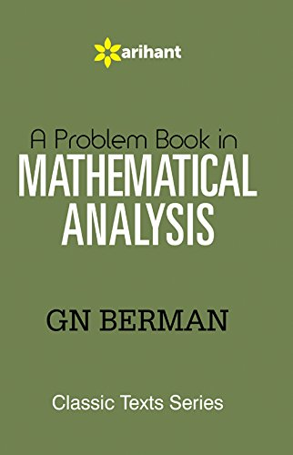9789352030583: A Problem Book in MATHEMATICAL ANALYSIS