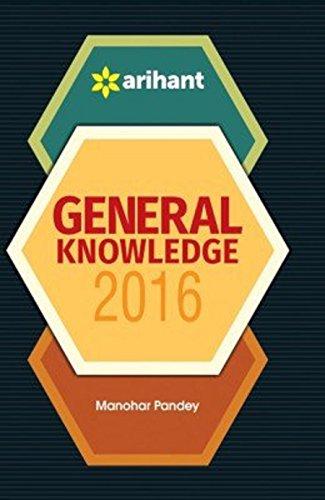 General Knowledge 2016: Manohar Pandey