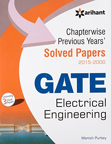 9789352034413: Chapterwise Previous Years'' Solved Papers (2015-2000) GATE Electrical Engineering