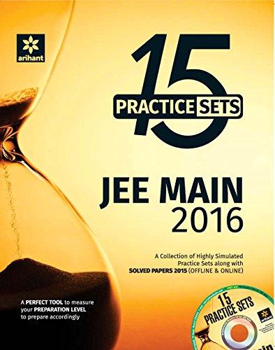 9789352036561: Final Lap - JEE Main 2016 - 15 Practice Sets (Physics|Chemistry|Mathematics)