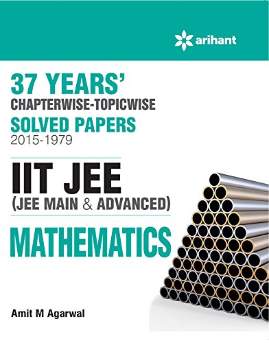 9789352037308: 37 Years' Chapterwise Solved Papers (2015-1979) IIT JEE MATHEMATICS