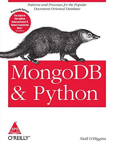 9789352130146: Mongo DB and Python