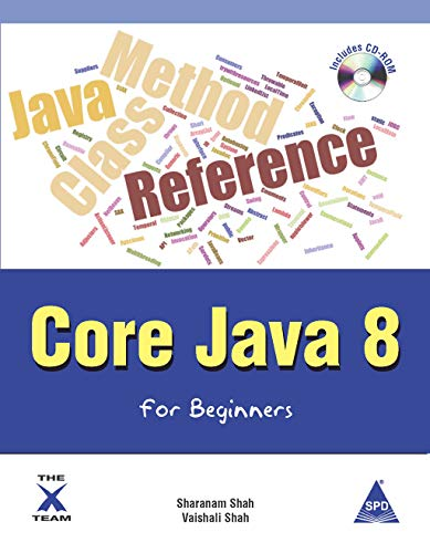 9789352130801: Core Java 8 for Beginners