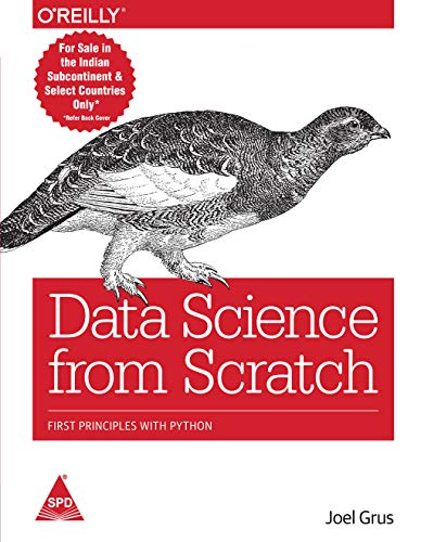 9789352130962: Data Science from Scratch