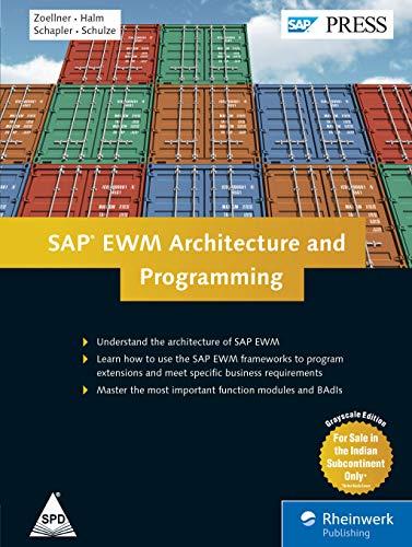 9789352132737: SAP EWM Architecture and Programming