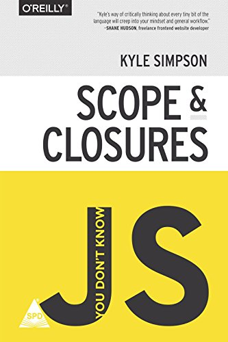 9789352134205: You Don't Know JS: Scope & Closures