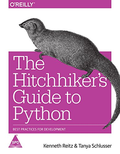 9789352134359: The Hitchhiker's Guide to Python