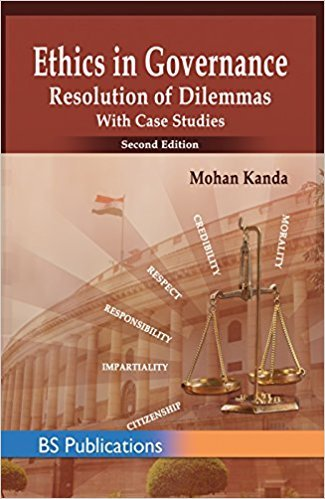 9789352300907: Ethics In Goverance Resolution With Dilemmas