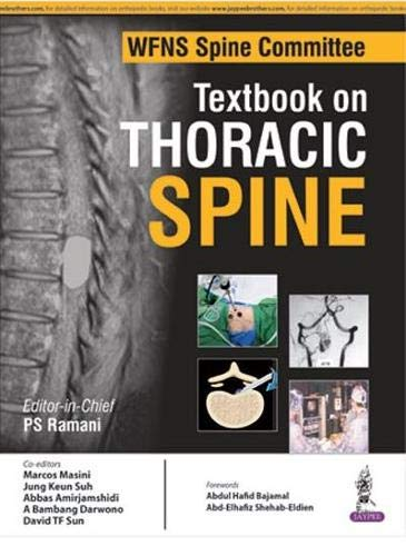 9789352500079: Wfns Spine Committee Textbook on Thoracic Spine