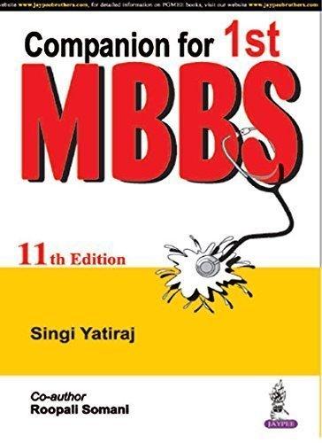 9789352501472: Companion for 1st MBBS