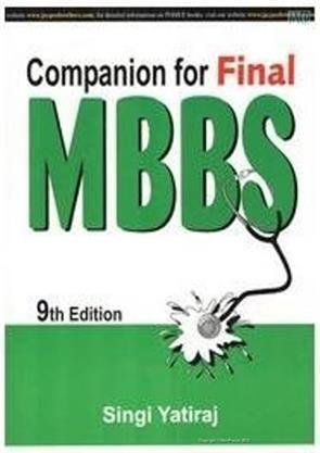 9789352501847: COMPANION FOR FINAL MBBS